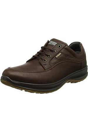 Grisport Hombre Trekking - Livingston, Zapatos de Low Rise Senderismo para Hombre, (Brown)