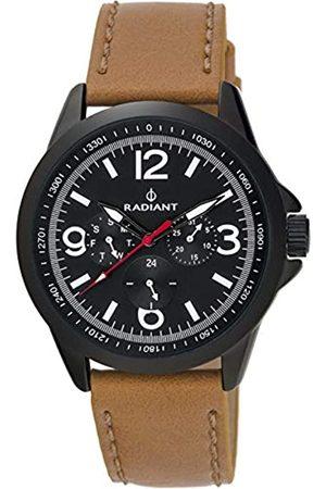 Radiant Reloj Analógico para Hombre de Cuarzo con Correa en Cuero RA413703