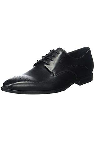 Geox U New Life A, Zapatos de Cordones Derby para Hombre, (Black)