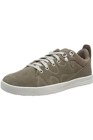 Jack Wolfskin Auckland Low, Zapatillas para Mujer, (Siltstone 5116)