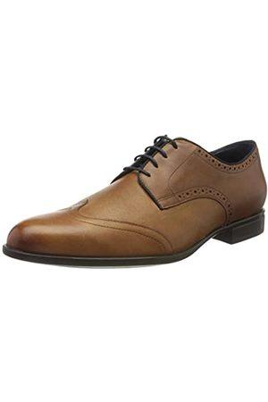 Geox U Iacopo D, Zapatos de Cordones Brogue para Hombre, (Cognac C6001)