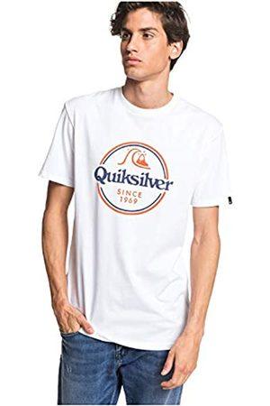 Quiksilver Words Remain tee M Camiseta, Hombre