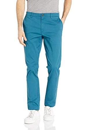 Goodthreads Marca Amazon - - Pantalón chino elástico de corte entallado, con efecto lavado y cómodo para hombre