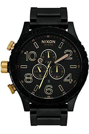 Nixon Reloj Cronógrafo para Unisex de Cuarzo con Correa en Acero Inoxidable A083-1041-00