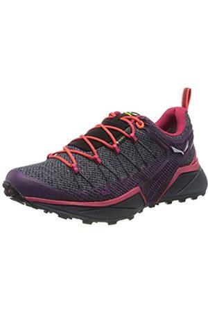 Salewa WS Dropline GTX, Zapatillas de Running para Asfalto para Mujer, (Ombre Blue/Virtual Pink 3853)