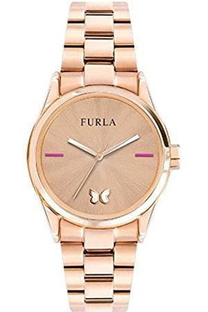 Furla Reloj Analógico para Mujer de Cuarzo con Correa en Acero Inoxidable R4253101532