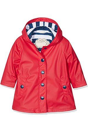 Hatley Splash Jacket-Red (Girls) Chaqueta Impermeable