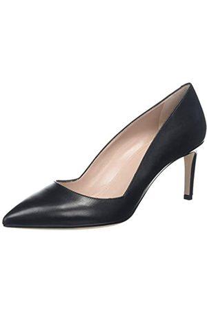 HUGO BOSS Hellia, Zapatos de Tacón para Mujer, (Black 1)