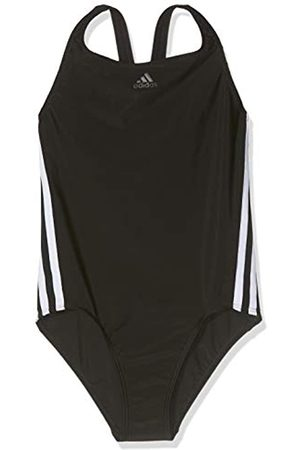 adidas Fit Suit 3s Y Swimsuit, Niñas, Black/White