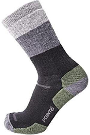 Desconocido Unknown - Calcetines de Senderismo para Hombre, diseño de Rayas, Hombre, Calcetines, POIN-112562204M