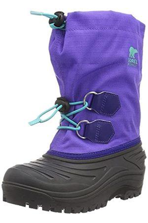 sorel Youth Super Trooper, Botas Unisex Niños, Morado (Purple Arrow/Reef)
