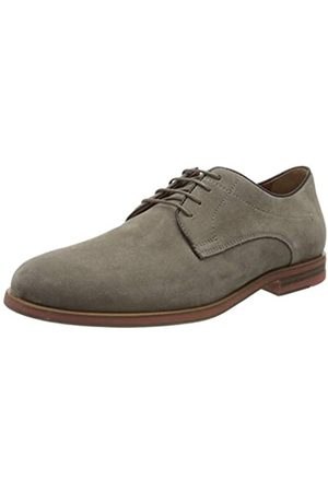 Geox U Bayle B, Zapatos de Cordones Derby para Hombre, (Taupe C6029)