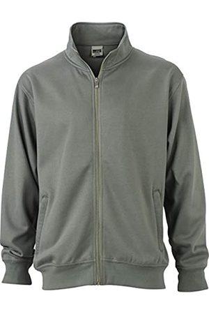 James & Nicholson Workwear Sweat Jacket Sudadera, Hombre