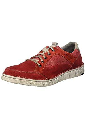 Josef Seibel Ruben 23, Zapatos de Cordones Derby para Hombre, (Rot/Kombi 949 401)