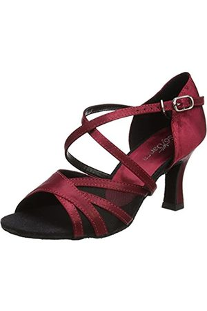 So Danca Bl162 Zapatillas de Baila Moderno y Jazz Mujer, (Burgundy)