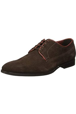 Geox New Life 22, Zapatos de Cordones Derby para Hombre, (Brown)