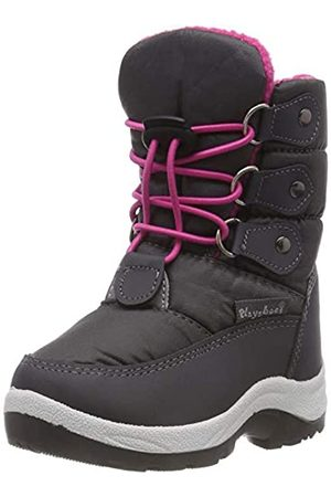 Playshoes Zapatos de Invierno Neon, Botas de Nieve Unisex Niños, (Pink 18)