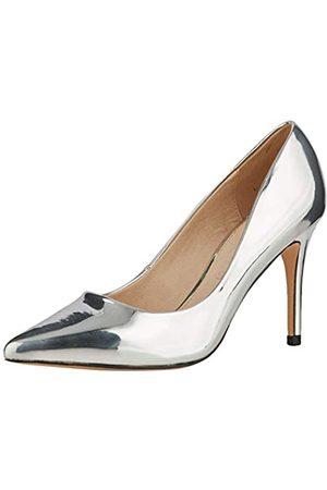 Buffalo Fanny, Zapatos de Tacón para Mujer, (Silver 001)