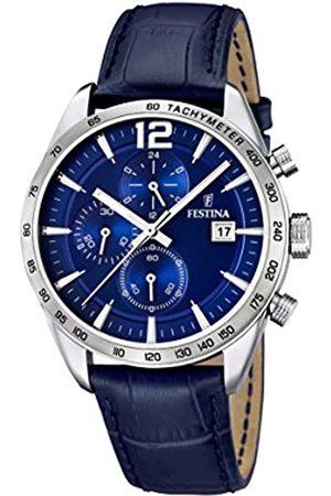 Festina University Sports Press F16760/3 - Reloj de Cuarzo para Hombre, con Correa de Cuero