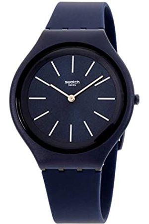 Swatch Reloj Analógico para Unisex Adultos de Cuarzo con Correa en Silicona SVUN107