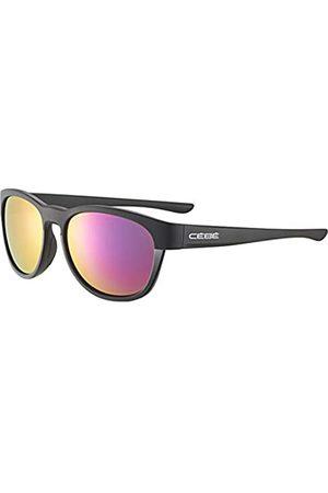Cebe Queenstown Gafas de Sol Mujeres Matt Shiny Black Medium