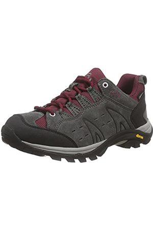 Bruetting Mount Bona, Zapatos de Low Rise Senderismo para Mujer, (Grau/Bordeaux)