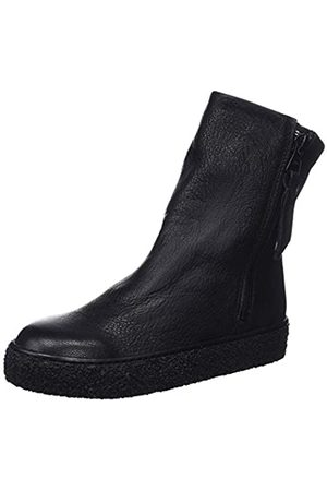 Mamatayoe Leonor, Botas Slouch para Mujer, (Black Real Leather 001)