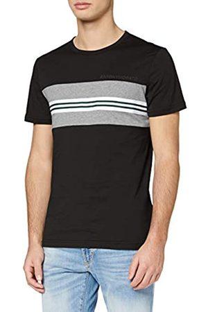 Antony Morato T-Shirt con Nastro E Stampa Logo Camiseta de Tirantes