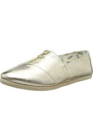 Paez Classic Zip Gold 037, Alpargatas para Mujer, (Silver 051)