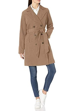 Amazon Essentials Water-Resistant Trench Coat Outerwear-Jackets
