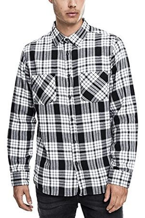 Urban Classics Hemd Checked Flanell Shirt 2 Maglia a Maniche Lunghe