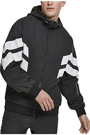Urban Classics Crinkle Panel Track Jacket, Chaqueta para Hombre