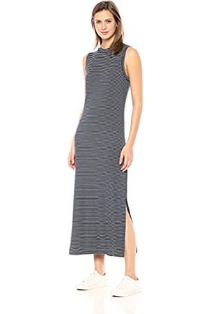 Daily Ritual Marca Amazon - - Vestido largo de punto con cuello mock para mujer