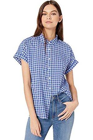 Goodthreads Lightweight Poplin Short-Sleeve Button-Front Shirt Dress-Shirts