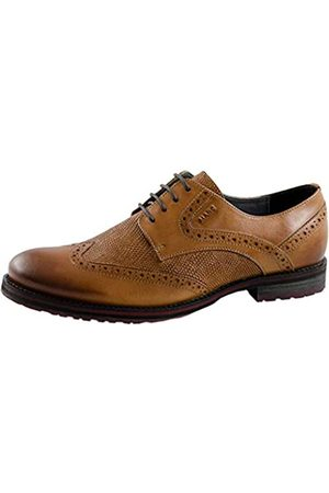 Marc Ferris, Zapatos de Cordones Brogue para Hombre, (Cow Leather Cognac 00943)