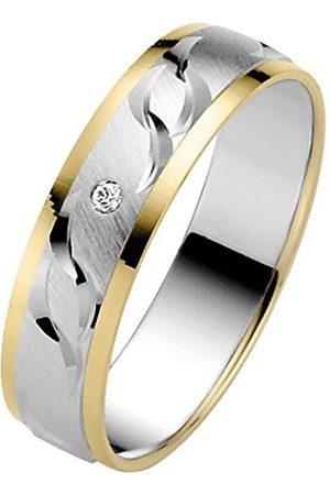 Trauringe Liebe hoch zwei TrauringeLiebehochzwei-Anillodeorobicolorde14quilatescondiamante(.01)talla10(1592mm)