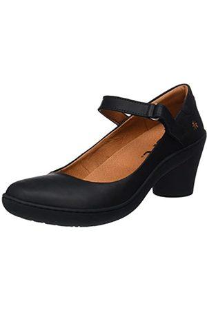 Art Grass-1440 Zapatos de tacón con punta cerrada Mujer, (Black/Black Black/Black)