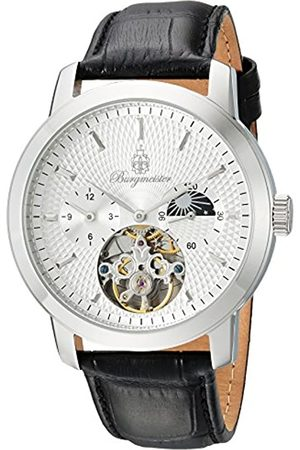 Burgmeister Reloj Hombre de Analogico con Correa en Cuero BM225-112