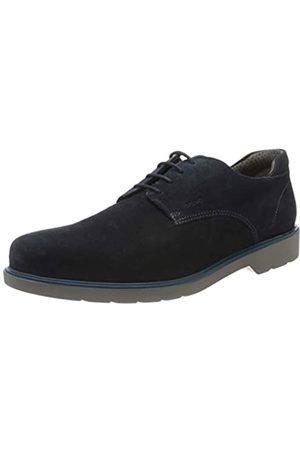 Geox U Raffaele B, Zapatos de Cordones Derby para Hombre, (Navy C4002)