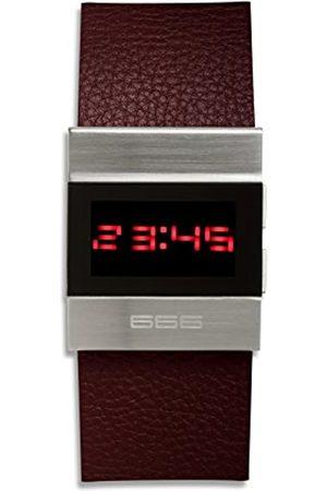 DUBOIS E FIIS Reloj Digital para Hombre Unisex de automático con Correa en Cuero 71200