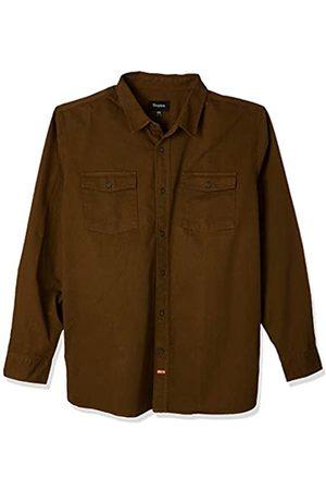 Brixton Olson L/S Wvn - Camiseta para Hombre, Hombre, 888588319345