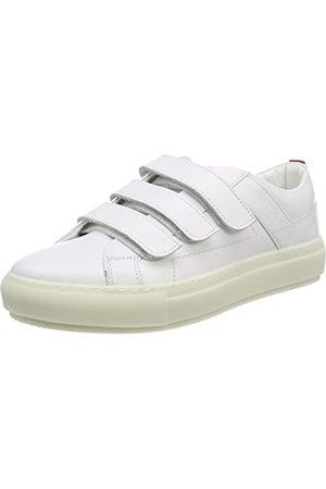 HUGO BOSS Hackney-c, Zapatillas para Mujer, (White)