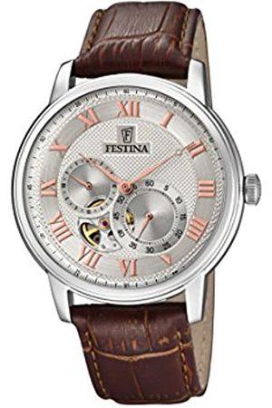 Festina Reloj Análogo clásico para Hombre de Automático con Correa en Cuero F6858/2
