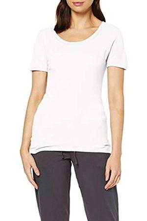 Damart Tee Shirt Manches Courtes Camiseta térmica, (Blanc 58139-1010)