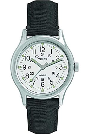 Timex Reloj Analógico para Hombre de Cuarzo con Correa en Nailon TW2R68300