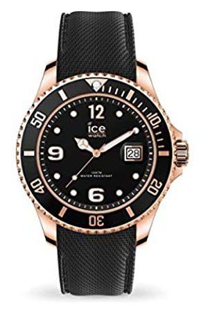 Ice-Watch ICE steel Black Rose-Gold - Reloj para Hombre con Correa de silicona