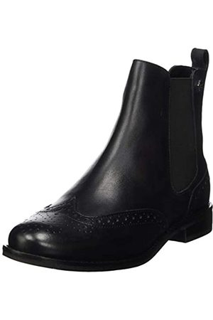 Superdry Millie Brogue Chelsea Boot, Botines para Mujer, (Black 02a)