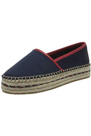 Tommy Hilfiger Sporty Basic Flatform Espadrille, Zapatos de Tacón para Mujer