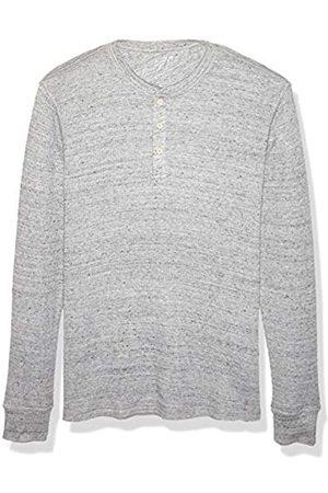 Amazon Regular-Fit Long-Sleeve Waffle Henley Shirts