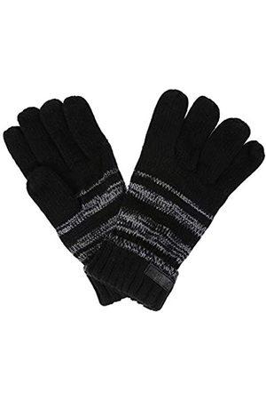 Regatta Davion' Stripe Knit Gloves Guantes, Hombre